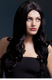 Long Soft Curl Wig Rhianne in Black