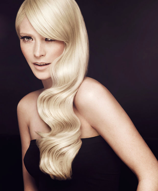 Long Soft Wave Wig Nicole in Blonde