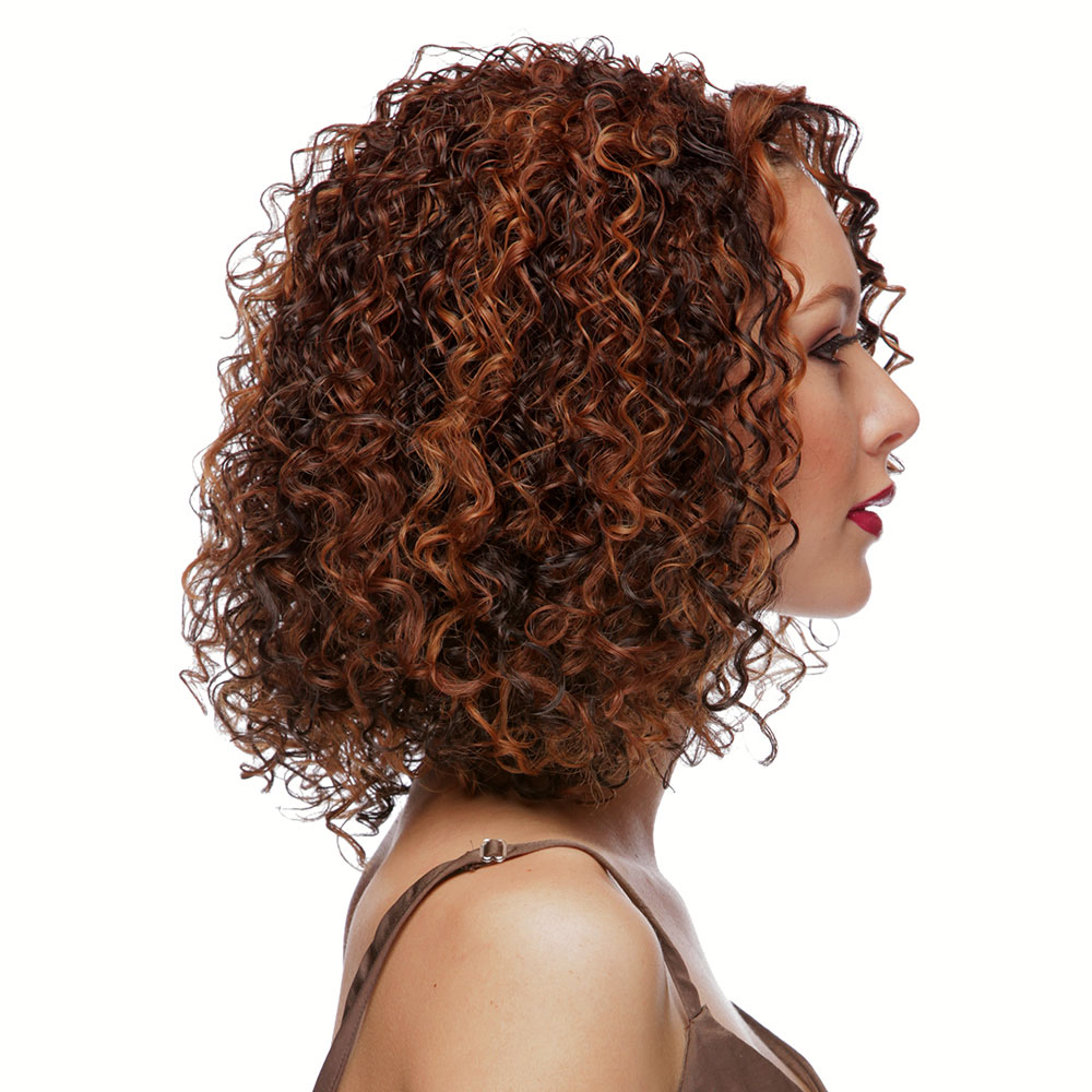 Long Spring Curl Lace Front Wig