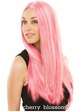 Long Wavy Ashley Wig in Cherry Blossom Pink inset 2