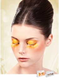 Long Yellow Lashes for $6.00