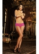 Low Cut Stretch Lace Shorts with Bow Detail inset 3