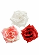 Luxe Satin Rose Flower Hair Clip (available in 15 colors) inset 2