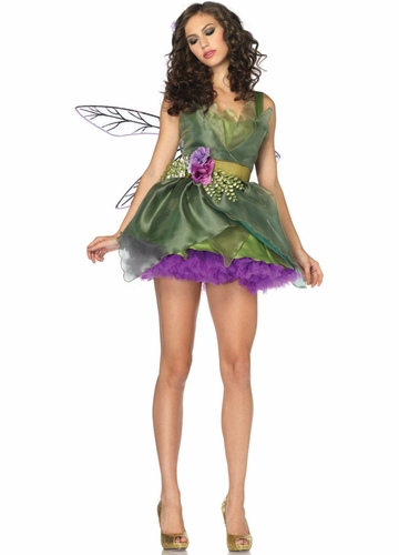 Luxe Woodland Fairy Halloween Costume