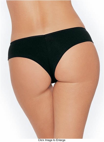 Lycra Low Rise Tanga Shorts