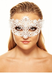 Brigitte Masquerade Mask with Crystals