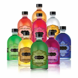 Massage Oils and Edible Body Paint
