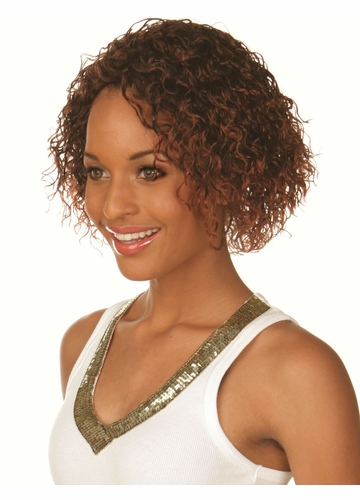 Medium Length Curly Wig Mimi