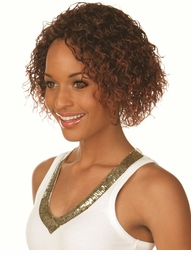 Medium Length Curly Wig