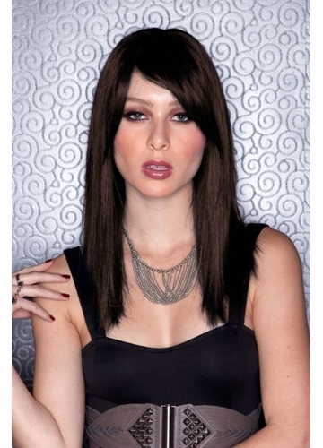 Medium Length Sultry Chocolate Wig Fortune