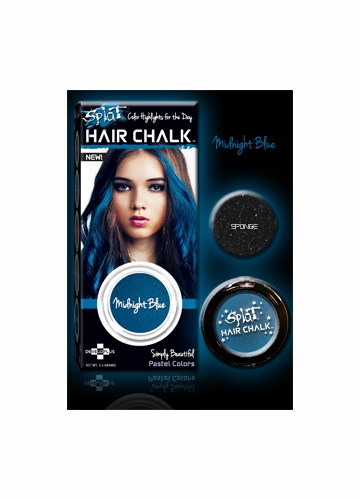 Midnight Blue Hair Chalk from Splat Hair Color