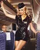 Mile High Stewardess Costume