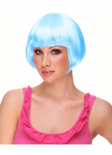 Mini Bob Wig Eve in Light Blue