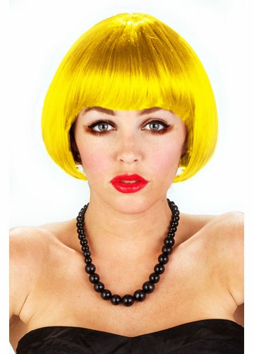 Mini Bob wEve Wig in Yellow