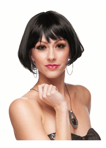 Mini Bob Wig with Rich Bangs