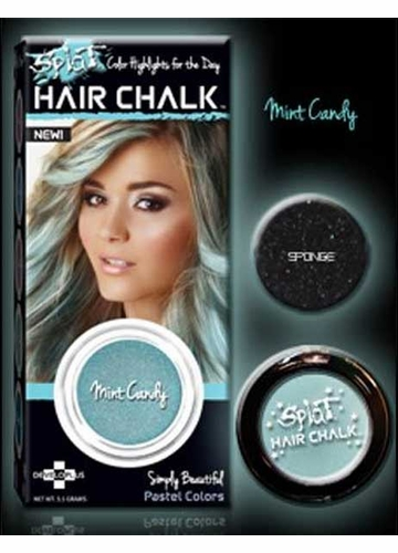 Mint Candy Hair Chalk from Splat Hair Color