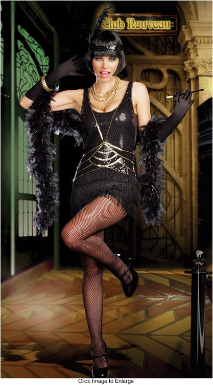 Misbehavin' Flapper Costume