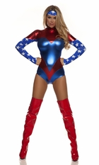 Miss American Dream Superhero Costume