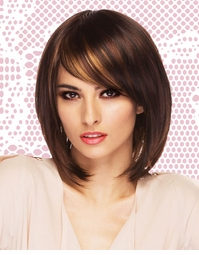 Modern Shoulder Length Bob