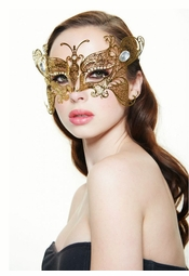 Monarch Butterfly Masquerade Mask
