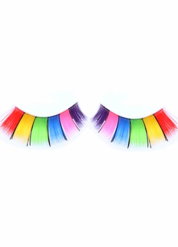 Multi Rainbow Lashes