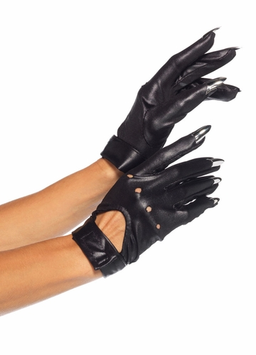 Nail Claw Moto Gloves