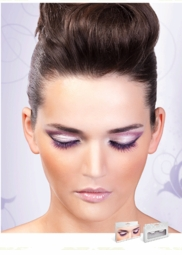 Natural Purple Lashes for $6.00