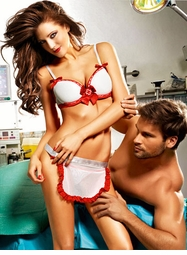 Naughty Nurse Lingerie Costume