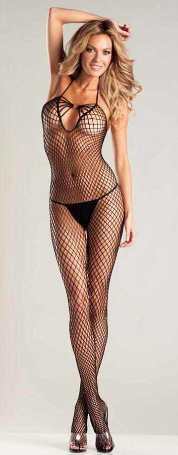 Net Bodystocking (Plus Size Available)
