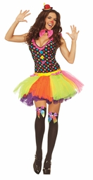 Sexy Clown Girl Costume