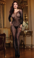 Leopard Net Bodystocking