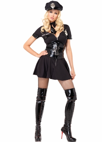 Officer Naughty Police Girl Costume