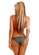 Olive Green Crochet Bikini with Full lining inset 1