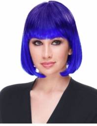 Ombre Graduated Color Blue Wig for $24.00