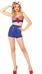 On Deck Darling Sailor Costume