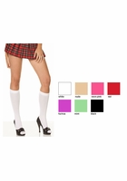 Opaque Knee High Socks