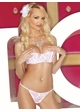 Open Bust Bra and Open Front Panty inset 1