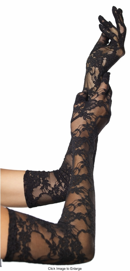 Opera Length Lace Gloves
