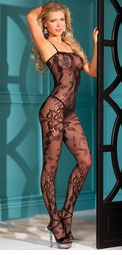Orchid Lace Bodystocking