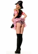 Pink and Black Skull Treasure Hunt Pirate Costume from Leg Avenue inset 1