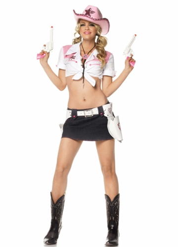 Pink Cowgirl Costumes