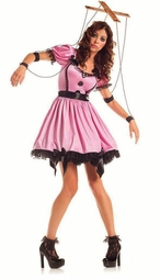 Pink Marionette Costume