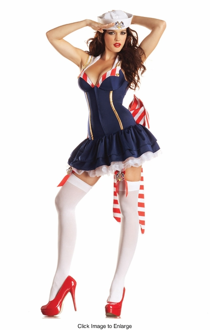 Pinup Sailor Shaper Costume