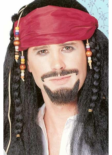 Pirate Goatee Facial Hair