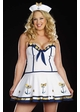 Plus Size 3-Piece Anchor Sailor Costume inset 1