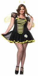 Plus Size 3-Piece Daisy Bee Costume