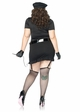 Plus Size 6-Piece Dirty Cop Costume inset 1