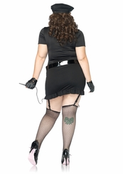 Plus Size 6-Piece Dirty Cop Costume