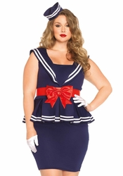 Plus Size Aye Aye Amy Sailor Halloween Costume