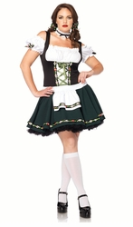 Plus Size Bavarian Heidi Costume